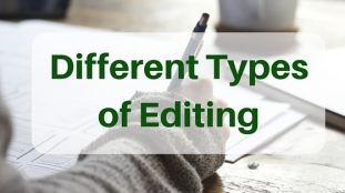 Image result for types of editing
