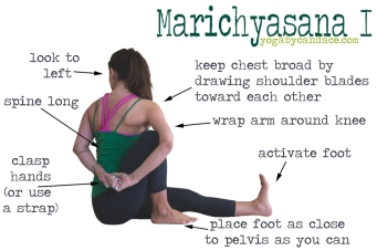 Image result for Marichyasana